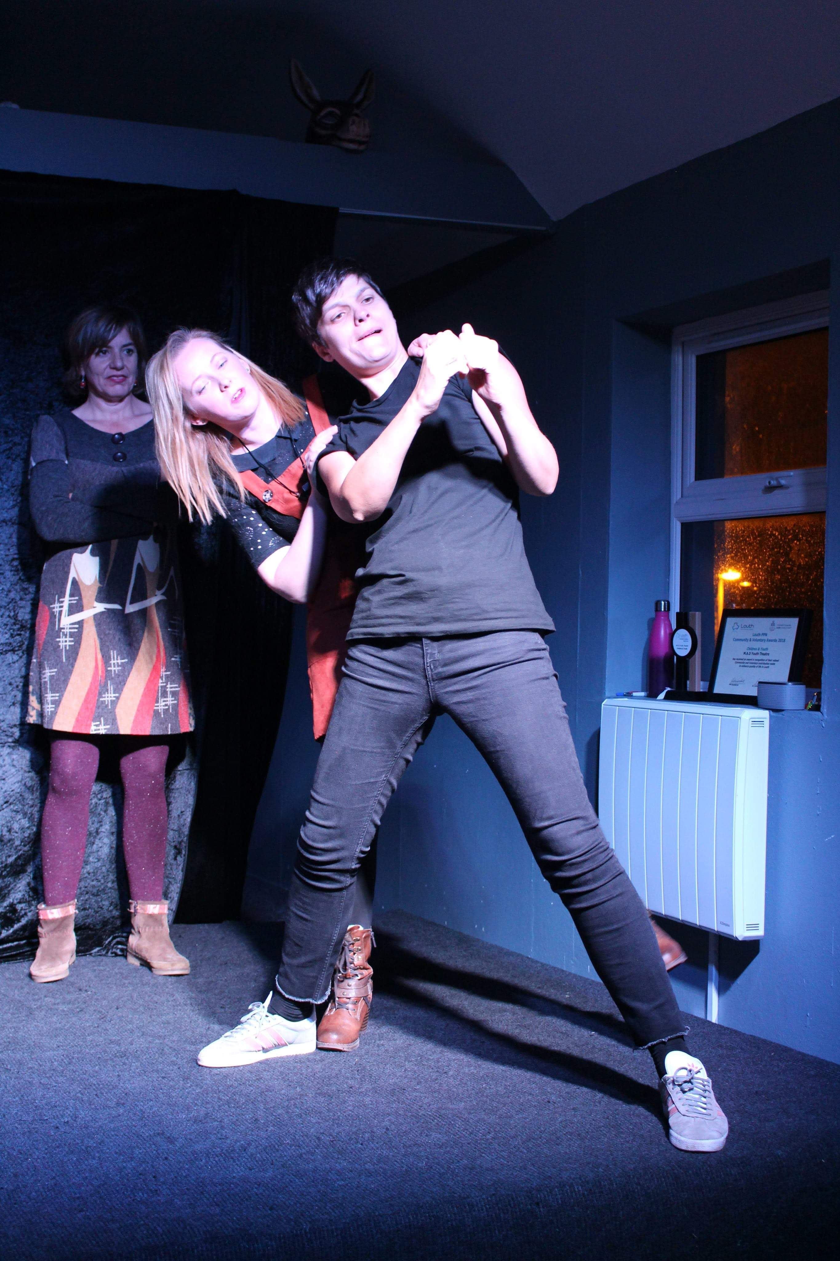 Improv for Adults Showcase  (October 22nd, 2018). Photo: Orla Barry
